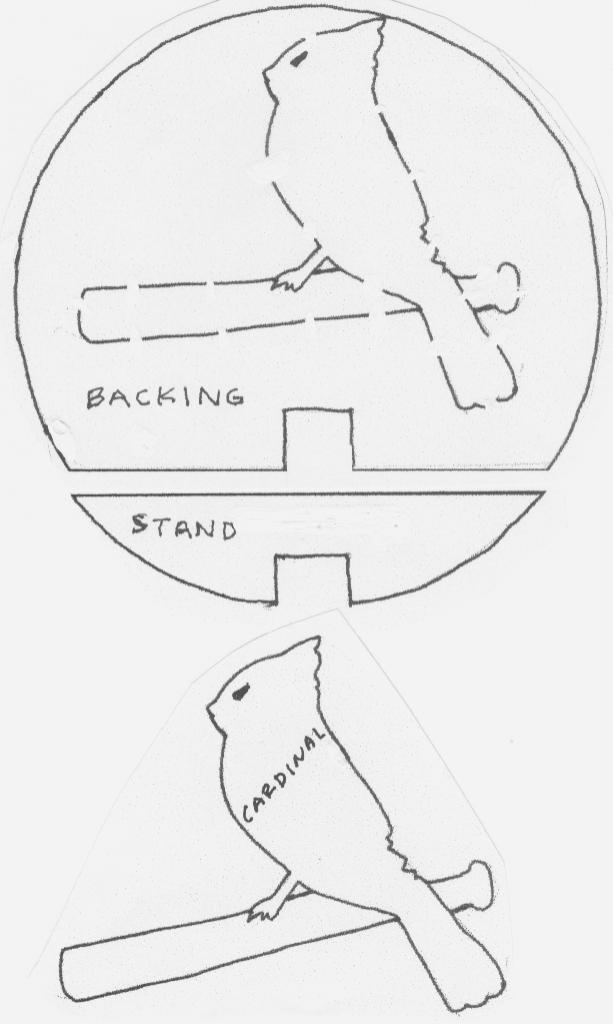 Cardinal logo 2 pattern